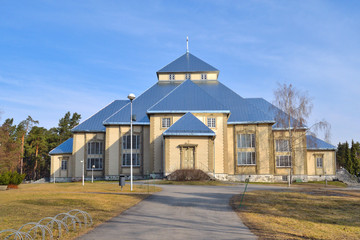 Finland. Lutheran church in Mikkeli