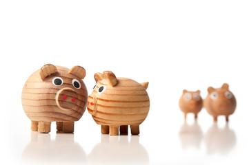 Schweinefamilie