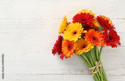 Leinwanddruck Bild Blumenstrauss