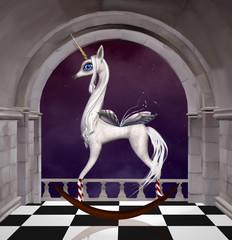 Fantasy rocking horse