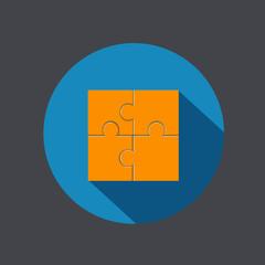 Vector modern puzzle icon