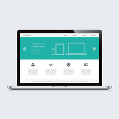laptop responsive web design