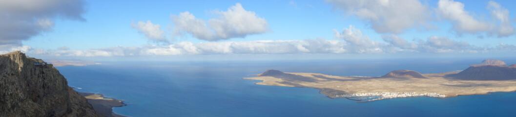Lanzarote. Mirador Del Río Y La Graciosa