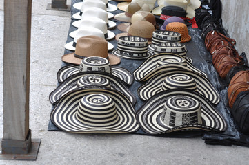 Sombreros Volteados - Typical Colombian Hats