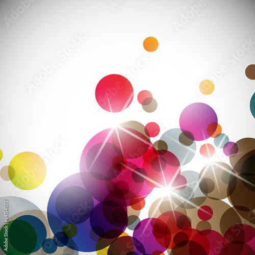 abstract background: sphere