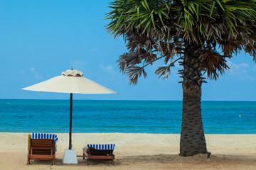 sandy beach on the shores of the Indian Ocean Sri Lanka