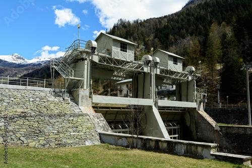 Diga di Maen - Valtournenche - Valle d'Aosta