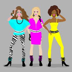 girls disco style