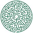 Round maze