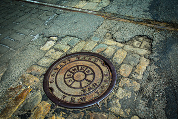 Brooklyn Navy Yard Sewer Drain