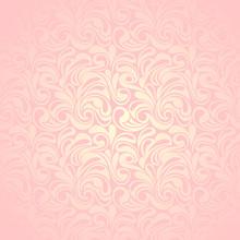 Абстрактный розовый узор бесшовные. Векторная иллюстрация.