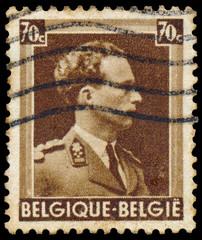 Stamp shows Leopold III of Belgium