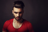 Fototapety Male beauty portrait