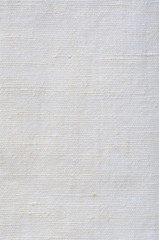 Natural Bright White Flax Fiber Linen Texture, Vertical Macro