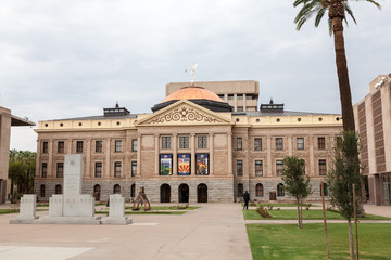 Arizona State House and Capitol Building in Phoenix, AZ