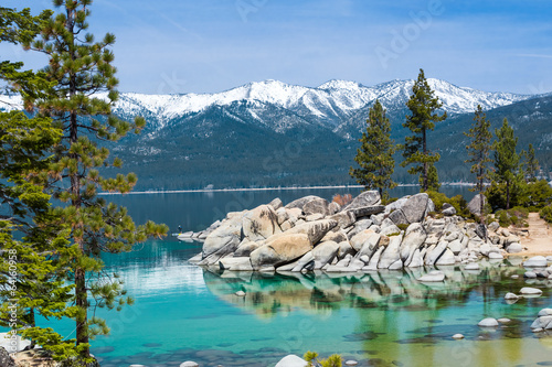 Fotobehang Grote meren Sand Harbor, Lake Tahoe