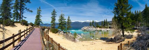 Canvas Grote meren Sand Harbor, Lake Tahoe