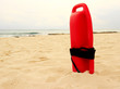 Red plastic lifeguard tube - 64162748