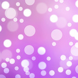 Purple light bokeh background