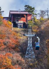 Ropeway at Lake Kawaguchiko