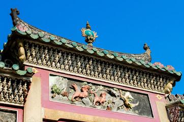 Macau - Taoist temple of A-Ma goddess.