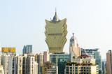 The Gran Lisboa Casino in Macau
