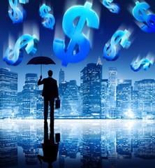 Businessman Facing Financial Crisis