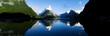 Leinwandbild Motiv Mountains in New Zealand
