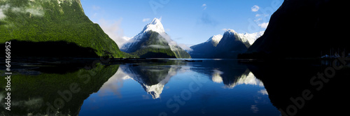 Mountains in New Zealand - 64166952