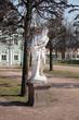 Постер, плакат: Статуи во французском парке Усадьба Кусково Москва Россия