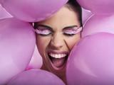 Make-up con palloncini rosa