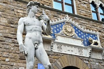 Statue des David von Michelangelo