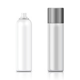 Fototapety White and silver sprayer bottle template.