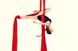 gymnast on canvases - 64171942