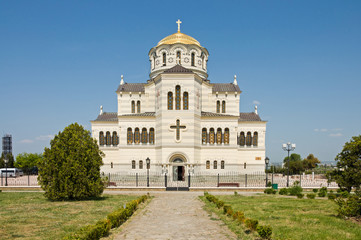 cathedral of St. Vladimir. Chersonesus in Crimea