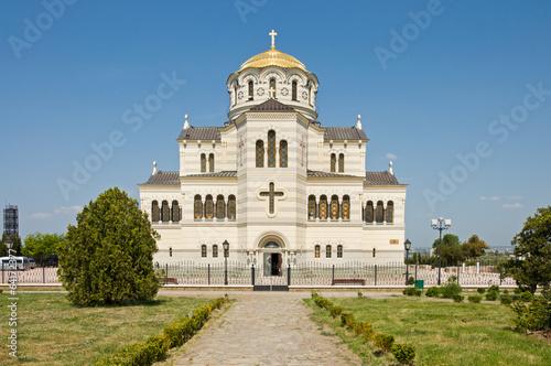 cathedral of St. Vladimir. Chersonesus in Crimea