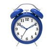 blue alarm clock - 64173367