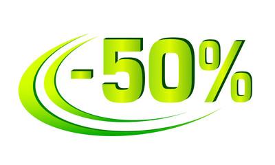 Rabatt - 2 - 50%