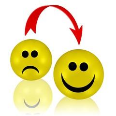 die Stimmung verbessern