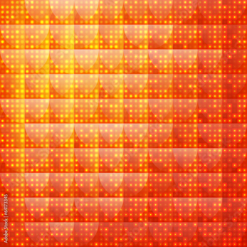 Orange abstract background of dotted