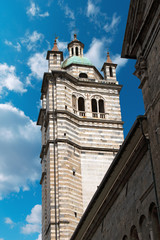 Bell Tower of St. Lawrence Cathedral Genoa
