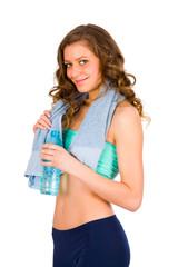 Girl Going to Gym