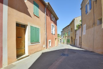 Provencal village, Roussillon, France