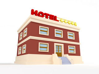 3d hotel