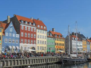 Copenhagen Nyhavn harbour