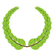 Laurel wreath - vector illustration