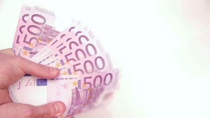 HD - Woman takes money