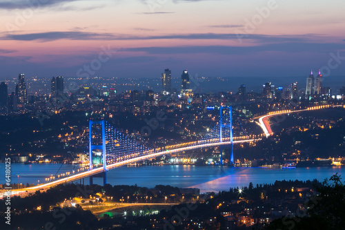 Plexiglas Turkey istanbul in night