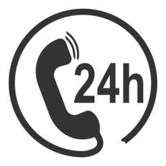Icon 24 Hour Call Center