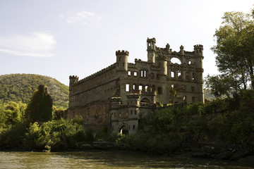 Bannerman Island Castle Armory River View